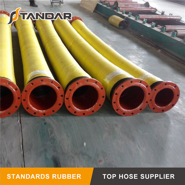 Industrial Pressure Smooth Sand Suction Rubber Hose