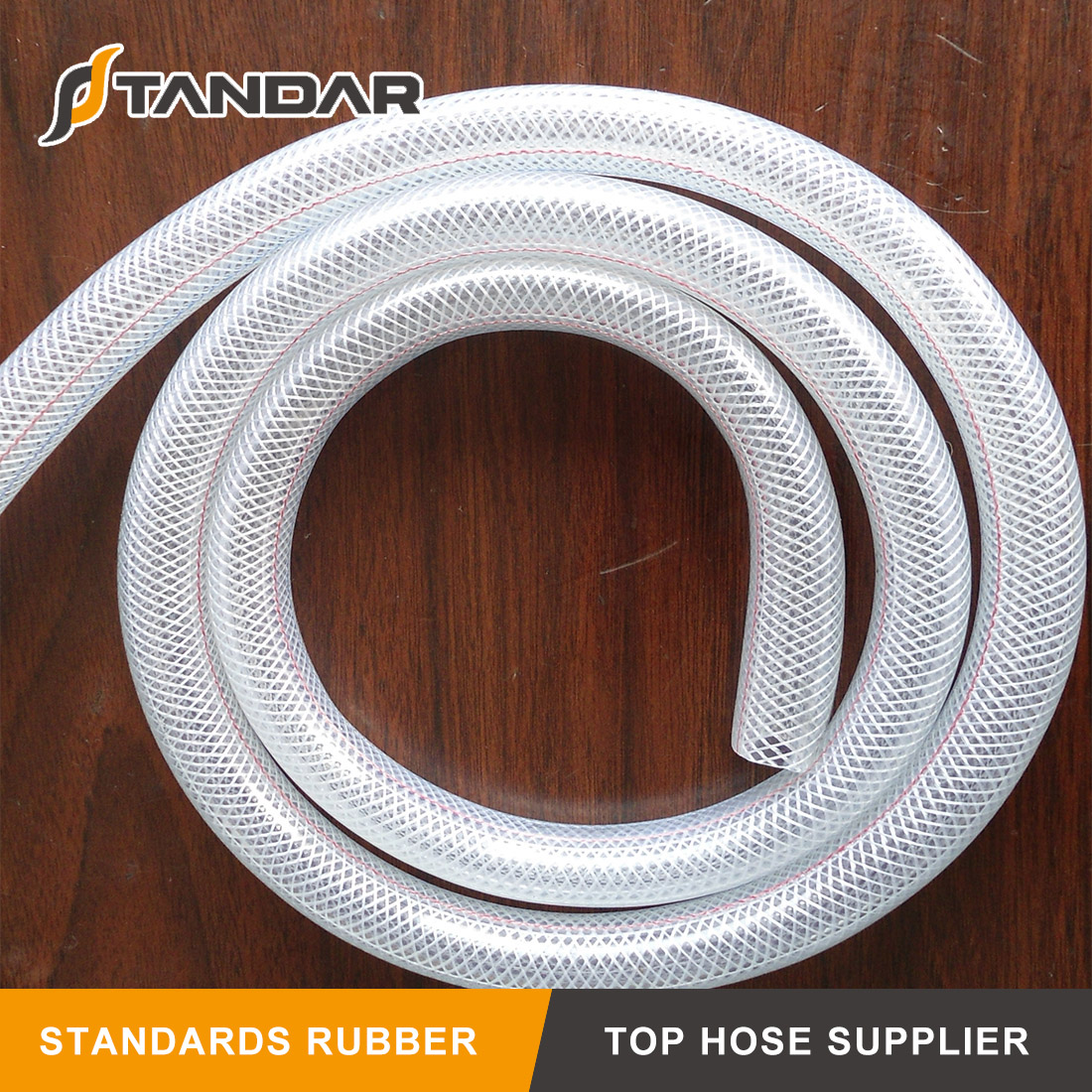 High Pressure soft clear reinforced platinum cured thin wall FDA Food Grade Silicone rubber tubing