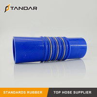 High Temperature Nylon Steel Wire Braided reinforced Hump Silicone Hose couplers