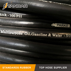 EN 853 1SN High Temperature Flexible Hydraulic Hot Oil Hose