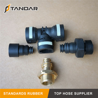 Flexible air hose Pneumatic Coupler Quick Connect fittings