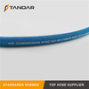 Blue Steel Wire Hot Oil Hose for Air Compressor