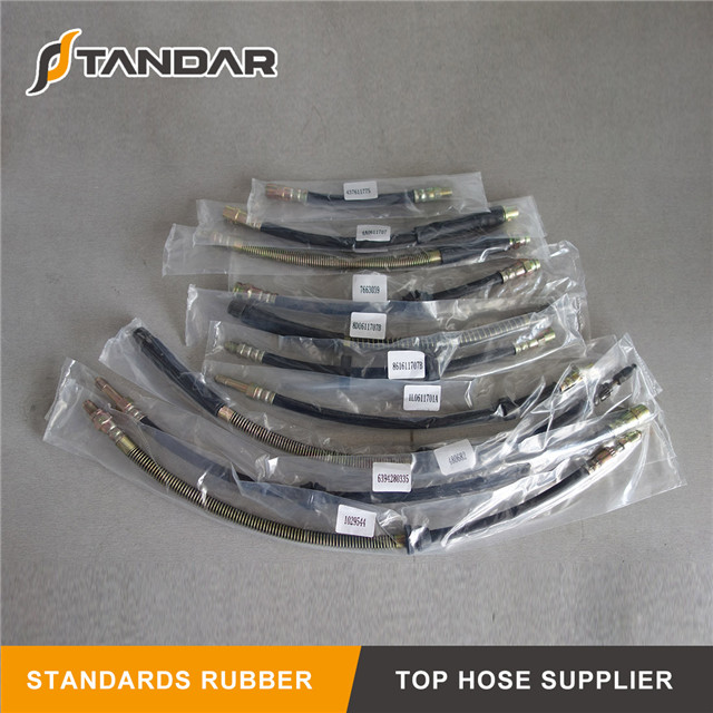Pressure Wire Briad Hydraulic Rubber Air Brake Hose