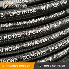 Textile Cord High Pressure Flexible Rubber LPG Hose