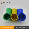 High Temp auto braided reinforced custom Elbow Silicone rubber Hose