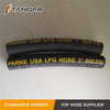 EN 853 1SN High Pressure SS Flexible marine CNG gas Hose pipe