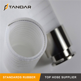 flexible Stainless Steel Wire braided reinforced food grade Silicone Hose