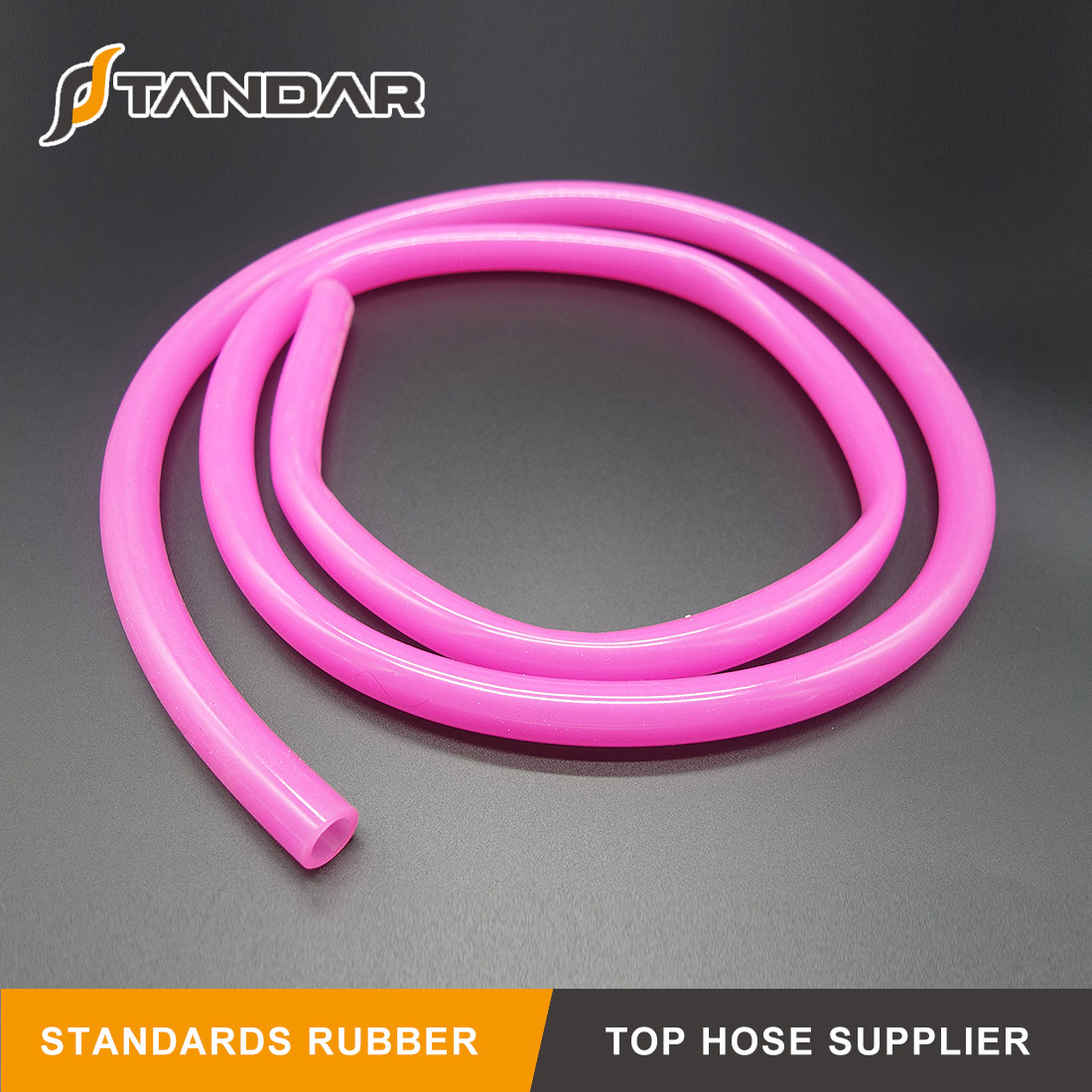 High Pressure flexible platinum cured thin wall reinforced FDA Food Grade Silicone vacuum Hose