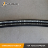 EN 853 1SN High Temperature Stainless Steel Wire Reinforced Braided Hydraulic Hose