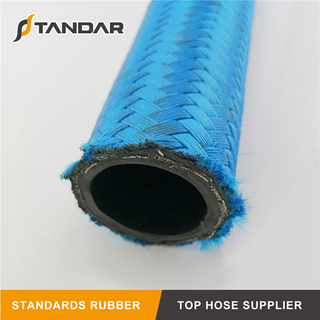 SAE 100 R5 steel Wire Braided reinforced textile cover DOT black Hydraulic rubber Hose