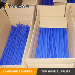blue Low Pressure Flexible Meter Straight Silicone vacuum Hose