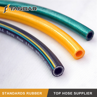 High Pressure Anti-erosion PVC Spray Hose for Engine Components