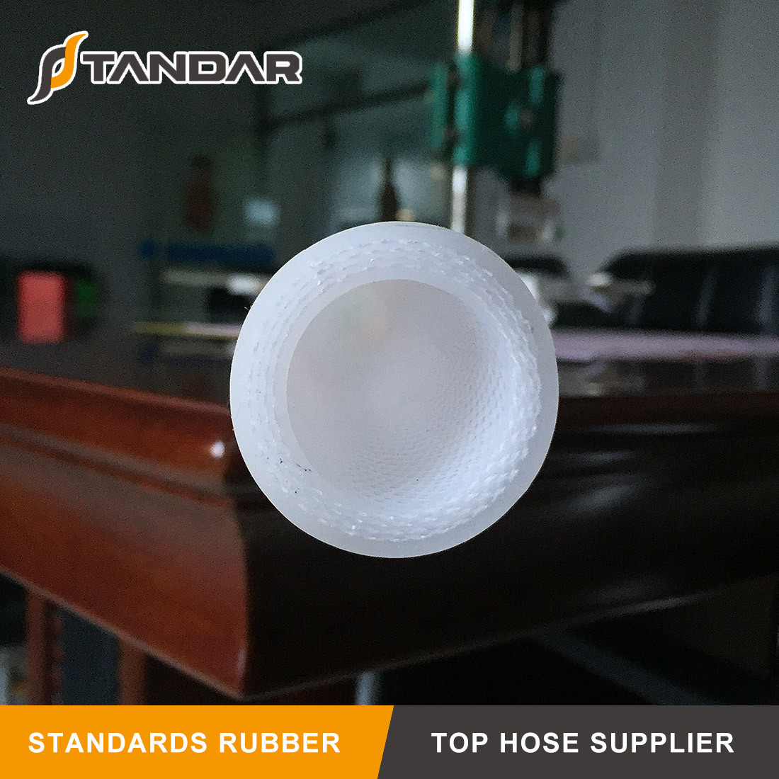 4-PLY Fabric and SS Wire Reinforced Silicone Hose