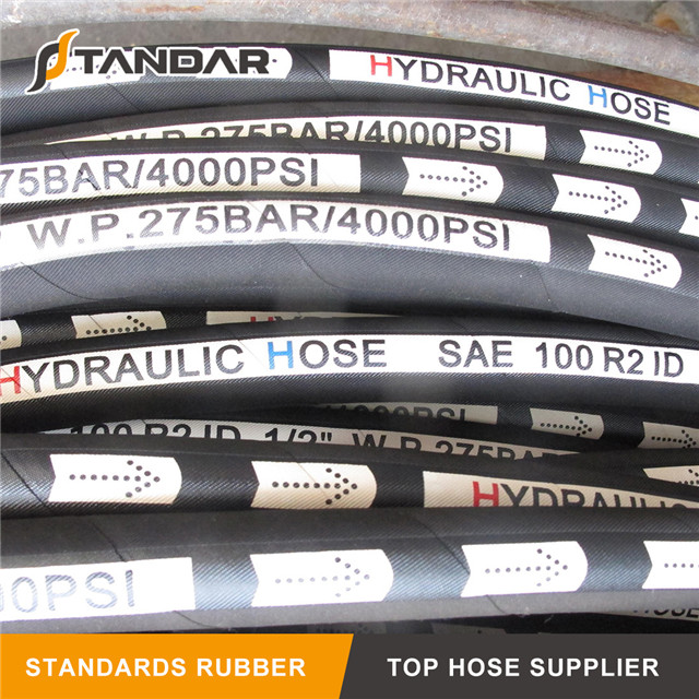 SAE 100 R2AT Synthetic Rubber Hose