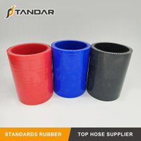 High Temperature Colorful 4-Ply Aramid Reinforced Renault Charge Air Hose 5005026180
