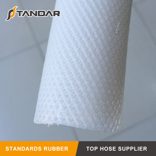 High Temperature Platinum Cured 4 Ply Fabric Reinforced USP Class VI Silicone Hose