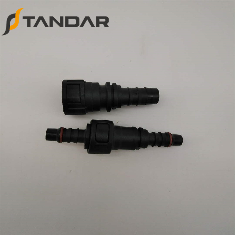 SAE 11.8 mm Male Fuel Quick Connector For Auto Fuel Lines Connection