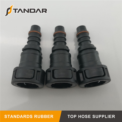 9.89 Female Bundy to Hose Barb Fuel Line Connector Quick Release